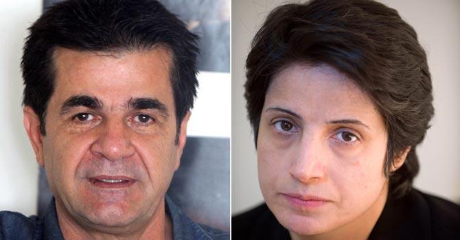 Prestigious Sakharov rights prize to Iran's Panahi, Sotoudeh