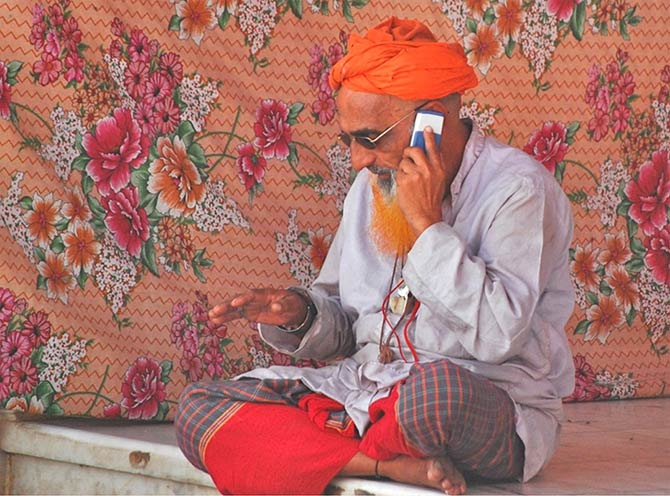 Spirituality, technology and style blend seamlessly at Sehwan Shareef Shrine in Sindh.