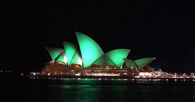 The Sydney Opera House – File photo by AFP