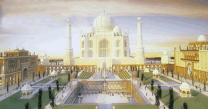 Dubai To Build Taj Mahal Replica World Dawn Com