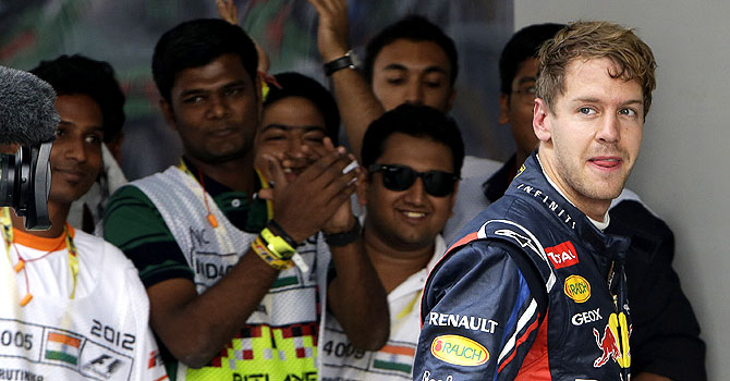 Indian Grand Prix, sebastian vettel, formula one, f1, buddh circuit