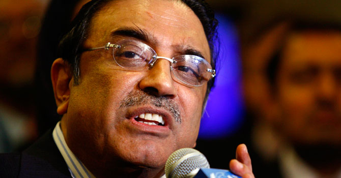 Malala's shooting 'an attack on all Pakistani girls': President Zardari