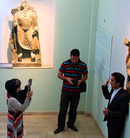 Buddhas in Bamyan were destroyed by Taliban but there is still a treasure stored in the Kabul museum. There are excavations going on in different places in Afghanistan.
