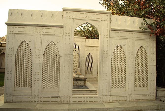 "The Mogul emperor had a wish to be buried in Kabul. He was first buried in Agra and later moved here. One can read in Persian on his tomb ""If there is a paradise on earth, it is this, it is this, it is this."