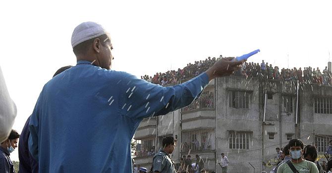 Bangladesh arrest three factory managers over blaze