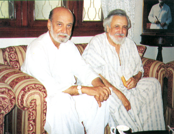With Sardar Ataullah Khan Mengal, former Chief Minister of Balochistan. – Photo courtesy Sama Books