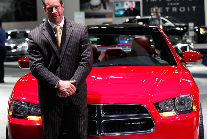 Reid Bigland, president and chief executive officer of Dodge Brand, poses for a portrait at the 2012 Los Angeles Auto Show in Los Angeles, California November 28, 2012.
