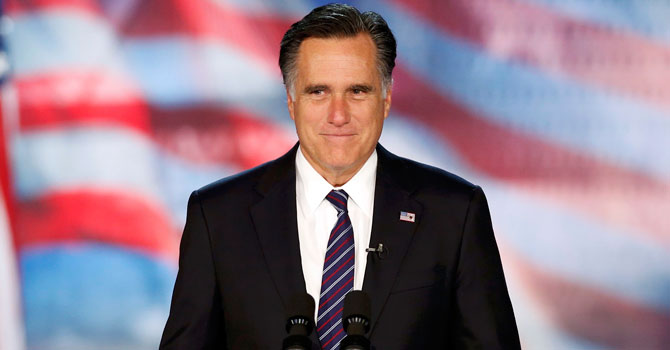 Romney concedes defeat in White House race