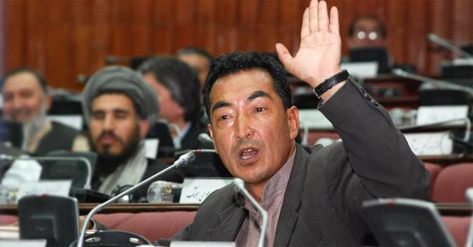 Dr Ramazan Bashardost in the Afghan parliament. – Photo courtesy www.RamazanBashardost.com