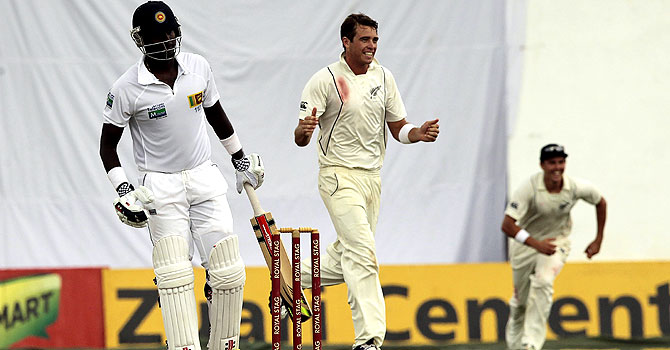 tim southee, trent boult, sri lanka new zealand test seriesm new zealand's tour of sri lanka, Samaraweera