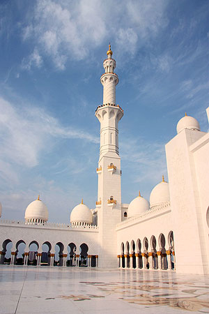 It is the largest mosque in the United Arab Emirates and the eighth largest mosque in the world.- Photo by Eefa Khalid.