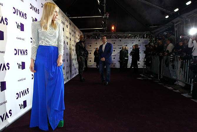 Natasha Bedingfield arrives at VH1 Divas on Sunday, Dec. 16, 2012, at the Shrine Auditorium in Los Angeles. ? AP Photo
