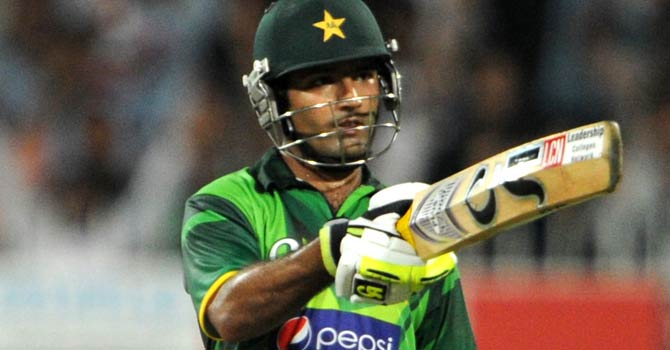 Asad Shafiq will not be in consideration for the ODI and T20 squads for India. – File photo by AFP