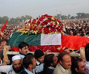 Bashir Bilour laid to rest: Outpouring of grief and rage at funeral