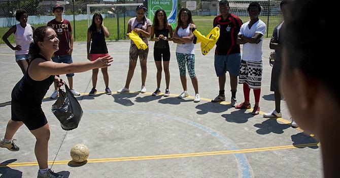 FIFA, Football for hope, Curicica, brazil, brazil football, rio de janeiro