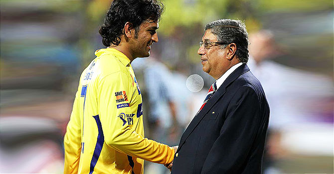 ms dhoni, srinivasan, india cricket