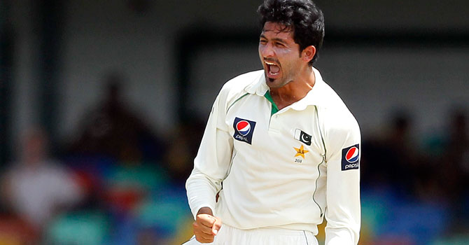 Junaid Khan is touted among Pakistan's pacers for the future. He is likely to make a return to the national side for Pakistan's tour of India. – File photo by Reuters