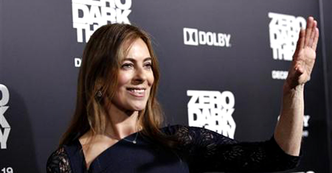 Director and producer of the movie Kathryn Bigelow waves at the premiere of ''Zero Dark Thirty''at the Dolby theatre in Hollywood, California December 10, 2012. The movie opens in the US on January 11. — Reuters Photo