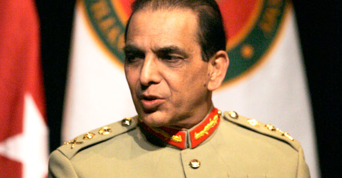 Chief of the Army Staff General Ashfaq Parvez Kayani is ranked 28 on the Forbes list. – File photo by AP