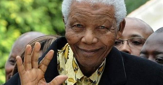 Former president of South Africa, Nelson Mandela. - File Photo