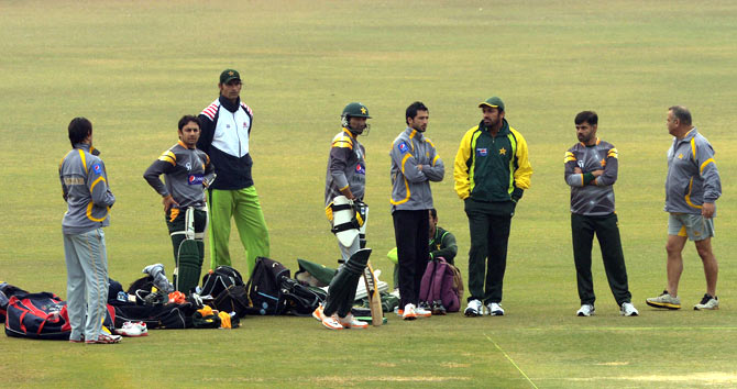 Pakistan leave for India on December 22 and the series gets underway on December 25 in Bangalore. ? Photo by AFP