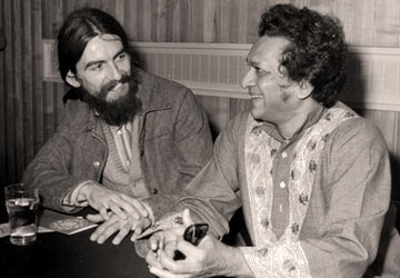 George Harrison and Ravi Shankar were associated greatly and the sitar player had almost become synonymous with The Beatles.