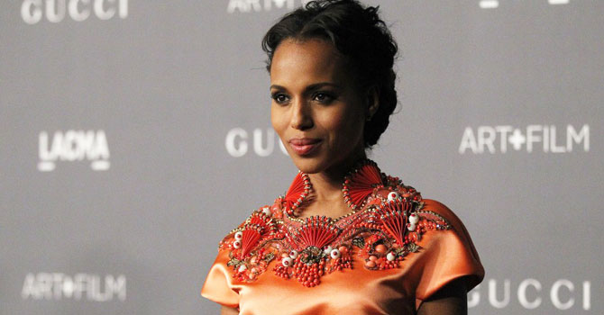 Foxx's co-star Kerry Washington said she believes the film's explicit brutality serves an important purpose in educating audiences about the atrocities of slavery. ''I do think that it's important when we have the opportunity to talk about violence and not just kind of have it as entertainment, but connect it to the wrongs, the injustices, the social ills,'' she said. - Reuters file photo