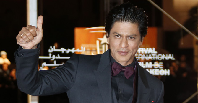 Bollywood star Shah Rukh Khan. — Photo AFP