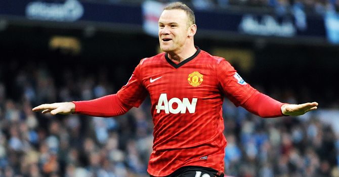 wayne rooney, rooney, manchester united