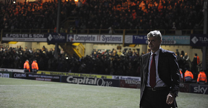 arsene wenger, arsenal, arsenal bradford, league cup, english premier league, premier league, wenger, alex ferguson