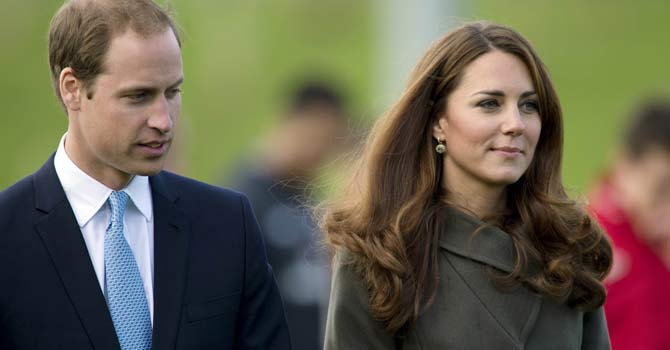 Britain's Kate and Prince William expecting a baby