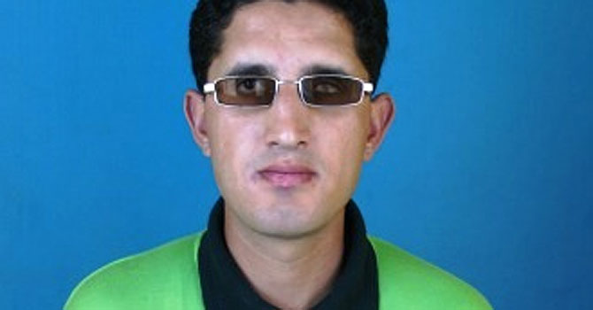 zeeshan abbasi, pakistan blind cricket team, pakistan blind cricket captain, blind world twenty20, bangalore, Chairman Blind Cricket Council, Sultan Shah, pakistan cricket
