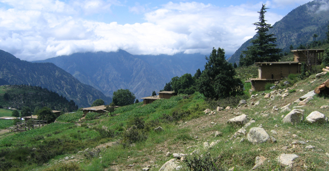 Sherakot Village in Palas Valley. -Photo by author