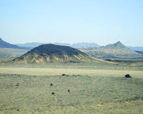 A view of Reko Diq fields.