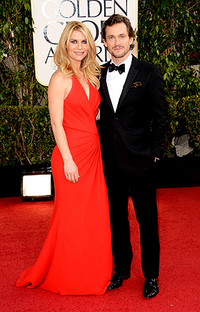 Actress Claire Danes (L) and Hugh Dancy arrive at the 70th Annual Golden Globe Awards held at The Beverly Hilton Hotel on January 13, 2013 in Beverly Hills, California. — AFP Photo
