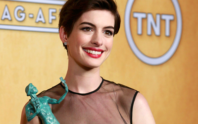 Anne Hathaway. — Reuters Photo
