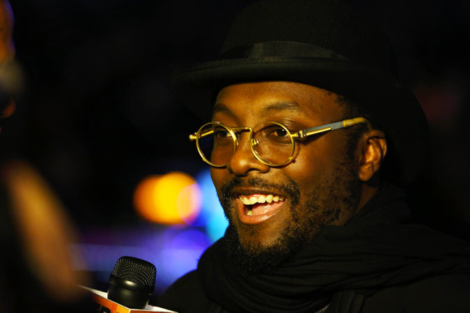 Will.i.am attends the Inaugural Ball. ?Photo by AFP