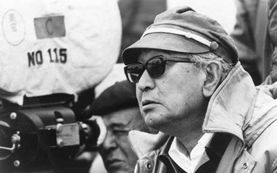 Akira Kurosawa on set. —Photo (File) AFP