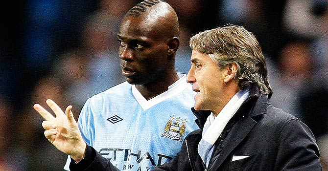 mancini, balotelli, ac miolan, serie a, english premier league, epl