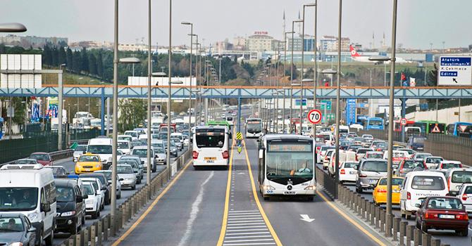 BRT in Istanbul.