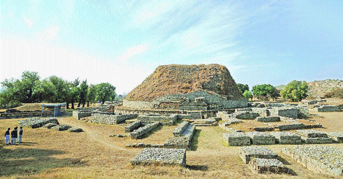 The Dharmarajika Stupa