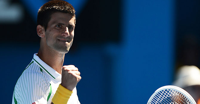 novak djokovic, australian open, australian open 2013, tennis