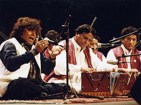 The hypnotic eastern music genre, Qawali, is an extremely popular ritual and art-form among the Barelvis.