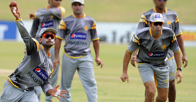 mohammad hafeez, pakistan training