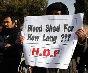 Talks between govt, Hazara Shia protesters end inconclusively