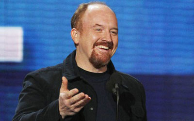 Louis C.K. was named the funniest person currently working in show business. —Photo (File) Reuters