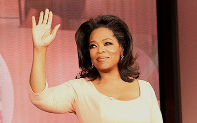 Talk show host Oprah Winfrey waves during 'The Oprah Winfrey Show Finale' during a taping at Harpo Studios in Chicago May 24, 2011. - Photo by Reuters