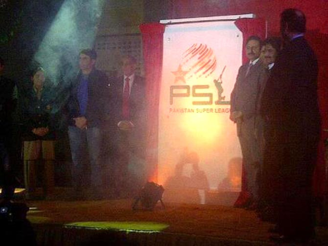 Pakistan Super League unveiled as PCB lures stars