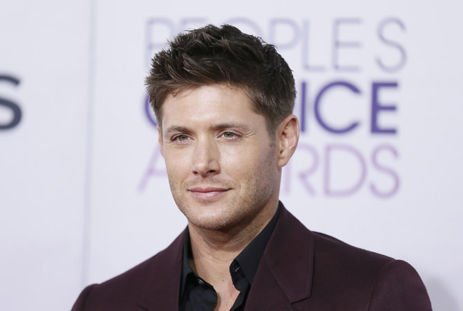 "Actor Jenson Ackles, of the series ""Supernatural,"" arrives at the 2013 People's Choice Awards in Los Angeles.?Photo by Reuters"
