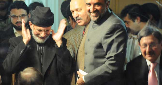 Qadri announces end to protest after government deal